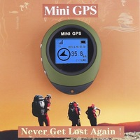 Handheld Keychain Mini GPS Navigation USB Rechargeable Digital Compass For Outdoor Sport Travel PG03 Wholesale