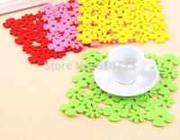 whole sale, Cartoon kindergarten home decorative wall stickers flower heat insulation pads eat mat eat mat pot pad table mat
