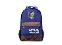 Attack on Titan casual shoulder bag / Backpack / Dual-use backpack Shoulders Messenger laptop Computer  school bag freedom wings