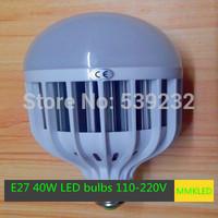 New High Power E27 40W LED bulbs 5730 SMD Led Lamp  AC110V-240V 40W Epistar 5730 SMD Light Led Spot  Free Shipping