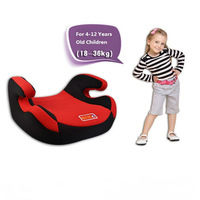 Car Safety Seats For Children Aged 4-12 Increased Pad