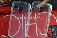 For moto G rubber case,clear little diamond soft TPU case for motorola moto G cover Moto G XT1028 XT1032 MOTO g case