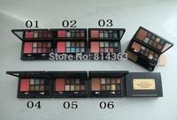 New high quality Leopard 8 colors eye shadow+blush+powder 40g(1pcs/lot)