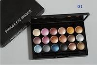 1PCs Brand makeup MC 18 color Professional powder eye shadow palette 6 diff color eyeshadow 32g Dropshipping free shipping