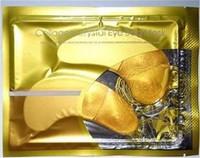 Crystal Collagen Gold Powder Eye Mask Crystal Eye Mask Top Quality 100pcs(50packs)/Lot Free Shipping