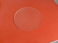 Borosilicate Glass  diameter 180mm thick 3mm  3 D printer accessory Rostock delta KOSSEL