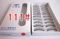 New Arrival 111# Pure Handmade natural false eyelashes beauty tool 10set/lot