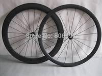 One pair 38mm front 60mm rear light carbon bike wheelset,700c road bicycle carbon fiber tubular wheels(Powerway hub+CN spokes)