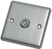 Door Release Button with KEY and Stainless Steel material for electric door lock Type806KE