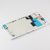 White Front Frame  Bezel  Replacement For Sony Xperia Z L4 ZU Ultra XL39H C6802 Togari C6833, free shipping!!