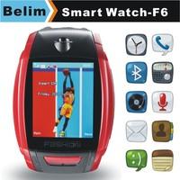 "Sports Watch Phone F6 GSM 1.8"" Touching Screen Smart MP3/MP4 Watch Support WAP GPRS Camera FM Micro SD card"