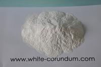 white corundum Sand