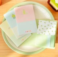 Free ship 1lot=10pcs/korean stationery kawaii Cute little fresh pad cartoon post-it notes memo pad N stickers school supplies