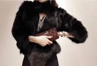 2014 New Short Design Faux Fur Jacket Outerwear For Women Plus Size Faux Fur Coat SV005837