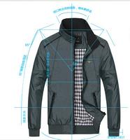 2014 New Autumn Dress Big Mens Fashion Plus Size  XL 2XL 3XL 4XL5XL Mandarin Collar Jacket Coat Man Jackets