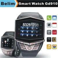"Watch Phone GD910 GSM 1.55"" Touching Screen Smart Watch MP3/MP4 Support WAP GPRS Camera FM Micro SD card"