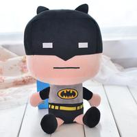 Iron Man Superman Batman Spider man Captain America Hawk eye cartoon doll plush toys chiren gift