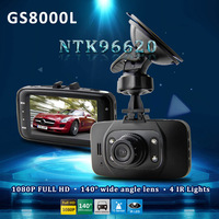 "Novatek GS8000L 2.7"" 1080P Full HD Car DVR Vehicle Camera Recorder 140 G-sensor Motion Detection Night Vision 4X Digital Zoom"
