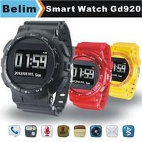 "Free Shipping Watch Phone GD920 GSM 1.33"" Touching Screen Smart Watch MP3/MP4 Support WAP GPRS Camera FM Micro SD card"