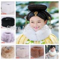 #973 Women Faux Fur Scarf Fox Fur Scarf Snood scarf Women Luxury Fur Shawl New Arrival Nice Quality Free Shipping
