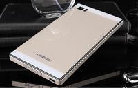 For Xiaomi mi3 , High Quality Aluminum Metal Tempered Glass Battery Cover Xiaomi MI3 Case For Xiaomi M3 MI3