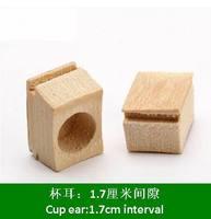 ES053  1.7cm  Bamboo birdcage supplies bird cup ear bamboo birdcage accessories 3pieces/lot  Free shipping