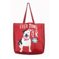 2014 designer brand cute dog high quality genuine leather women handbag red fashion tote bag ladies shoulder bag bolsa femininas