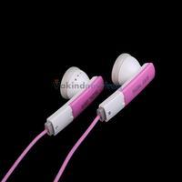 Pink 3.5mm Stereo In-ear Earphone Headphone for iPhone 4 5 iPod Samsung MP3 V3NF