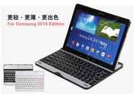 Aluminum Utral protector case for Samsung Note10.1 P600 Bluetooth3.0 wireless keyboard