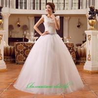 2014 sweet vintage bandage tube top wedding dress princess bride wedding dress vestido de novia vestido de noiva 091