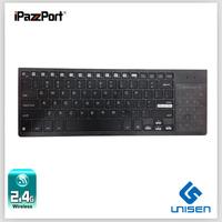 Newest !iPazzPort 10inch entertainment,multi-media Wireless keyboard backlit Computer keyboard Free Shipping