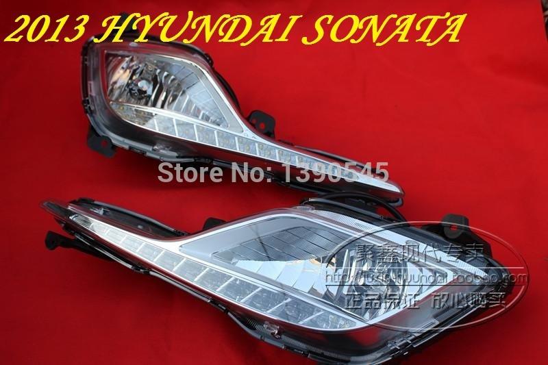Дневные ходовые огни Hyundai ! 2pcs /set + , 15W 12V, 6000K, дневные ходовые огни hyundai ix35 2010 2pcs set 15w 12v 6000k
