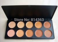 Free Shipping New Face Care Brand Base Primer Makeup Foundation Concealer Contour Palette 70g(1pcs/lot)