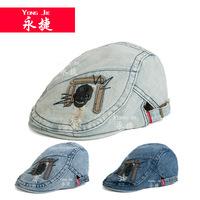 The new YJF-C75 spot skull cap worn version of men and women leisure sunshade duck tongue hat