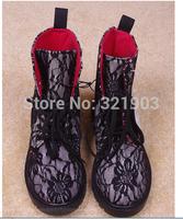 Bud silk cloth Martin boots
