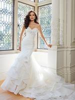 2014 Floor Length White Mermaid Wedding Dress beaded vestidos de novia Bride Dresses Bridal Gown custom made