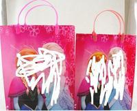 Frozen Bags Princess Elsa & Anna PVC gift bag cartoon bag Frozen Totes
