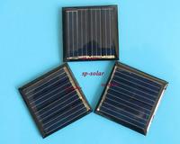 25PCS X 1V 100mA Mini monocrystalline polycrystalline solar Panel small solar cell PV module for DIY solar Kits