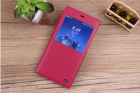 Mi3 Pu Leather View Case Luxury Flip Leather Cover For Xiaomi 3 Stand Case M3 Flip Book Cover For Xiaomi mi3 Wholesale 20pcs/lot