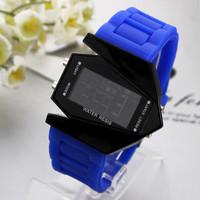 2014 new fashion Hot Sale Watch Led watch Bomber Flashlight LED+12/24Hrs Military Force Sport Digital Calendar Cuff Watch