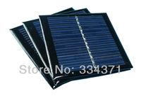 Free shipping 3pcs/lot Silicon Solar panel 5v 0.9w solar cell
