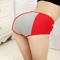 FREE SHIPPING 3PCS women menstruation panties sweat underwear women physiological period briefs Women's Intimates>Panties