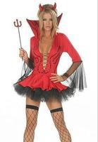 3 pieces  Halloween bandage V port devil costumes