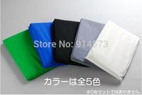 2pcs 3x6m 10x20ft Photography Studio Photo Chromakey 100% Muslin Cotton Backdrop Green White Black Blue Grey Background Screen