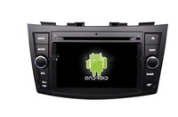 7Inch Pure Android4.1 car dvd player Radio for Suzuki swift with GPS BT 3G,WIfi,ipod,Game Steer Wheel Control