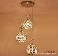 2014 Modern Crystal   Bedroom Living Corridor Study Lighting Restaurant Crystal Ball Lamps fashion pendant light ds-078