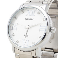 Special Offer! LONGBO Brand Fashion Men Business Watch, Quality Assurance, Men Waterproof All-Steel Quartz Watch, Free Shipping