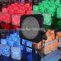 DHL 10pcs/lot Led Par Light 200pcs*10mm RGBA Color Mixing Slim Led Par Cans American DJ Light DMX 8 Channels Strobe Stage Light