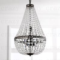 E14 6-light Retro American country Chandelier  restaurant lights Retro rustic traditional rope chandelier 38*38*64cm