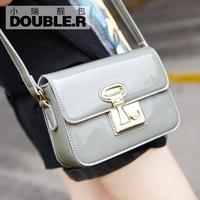 Fashion one shoulder mini bags 2014 women's handbag lockbutton vintage messenger bag